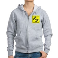 Minion on Board Car Sign Zip Hoody