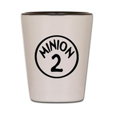 Minion 2 Two Children Shot Glass