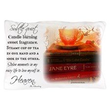 Quiet, Tea, and Books Pillow Case