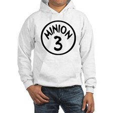 Minion 3 Three Children Hoodie