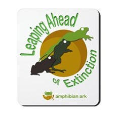 Leaping Ahead logo Mousepad