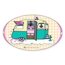 lil vintage trailer Decal