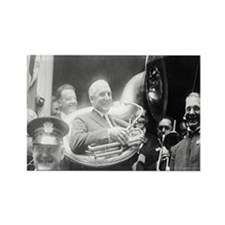 Warren G. Harding - Sousaphone Rectangle Magnet