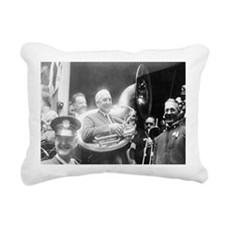Warren G. Harding - Sous Rectangular Canvas Pillow