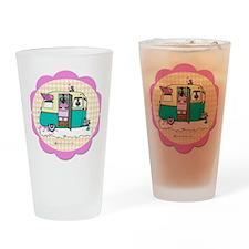lil vintage trailer Drinking Glass