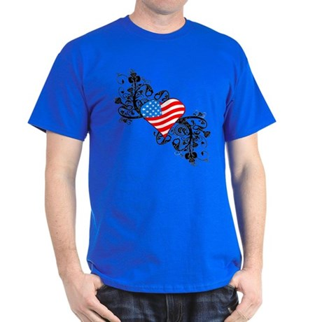 4th Of July Independence Day Dark T-Shirt