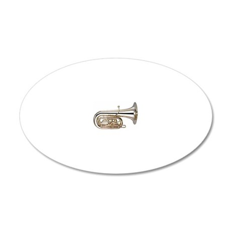 tuba-7 20x12 Oval Wall Decal