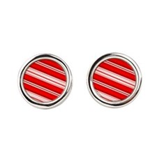 Peppermint Candy Cane Cufflinks