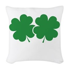 luckyCharmssTouch1B Woven Throw Pillow