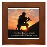 Freedom Framed Tile