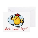 Which Came First? Greeting Cards (Pk of 10)