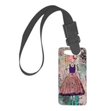 iphone 5 Just Smile by Janelle N Luggage Tag