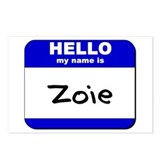 hello my name is zoie  Postcards (Package of 8)