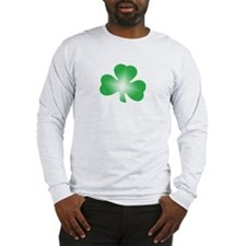 "Clover ""Irish? I Wish!"" Long Sleeve T-Shirt"