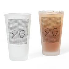 Poky Grey Drinking Glass