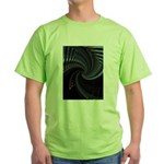 Dark Spiral Green T-Shirt