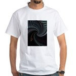 Dark Spiral White T-Shirt