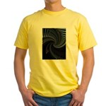 Dark Spiral Yellow T-Shirt