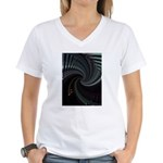 Dark Spiral Women's V-Neck T-Shirt
