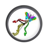 Autism It's a Beautiful Spectrum Wall Clock