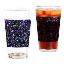 Mosaic Glitter 1 Drinking Glass