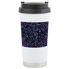 Glitter Graphic Backgro Travel Mug