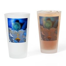 Winter Solstice Light round Drinking Glass
