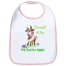 GOAT Ate the Easter Eggs Bib