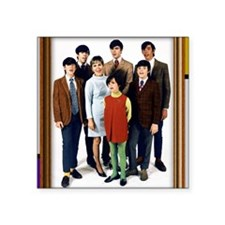 "Cowsills Photo Square Sticker 3"" x 3"""
