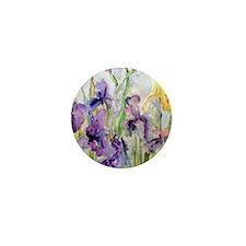 Romantic Ruffles Mini Button
