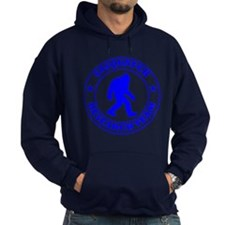 sasquatch research team blue Hoodie