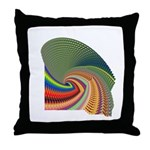 Leafed Throw Pillow