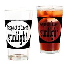 sunlightbutton Drinking Glass