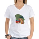 Leafed Women's V-Neck T-Shirt