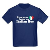 Everyone loves an italian boy T