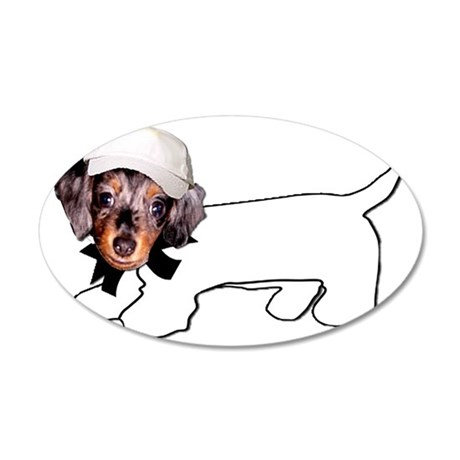 Autograph Hound 35x21 Oval Wall Decal