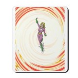 TORNADO GIRL Mousepad