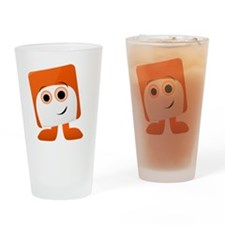 Chuckles Badge Drinking Glass