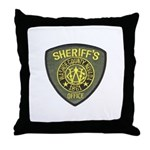 Washoe County Sheriff Throw Pillow