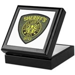 Washoe County Sheriff Keepsake Box
