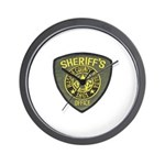 Washoe County Sheriff Wall Clock
