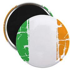 irish flag, craic head, st. patricks day, s Magnet