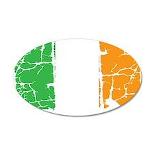 irish flag, craic head, st.  Wall Decal