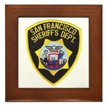 San Francisco Sheriff Framed Tile