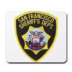 San Francisco Sheriff Mousepad
