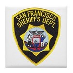 San Francisco Sheriff Tile Coaster