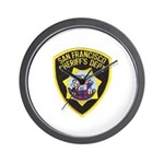 San Francisco Sheriff Wall Clock