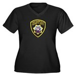 San Francisco Sheriff Women's Plus Size V-Neck Dar