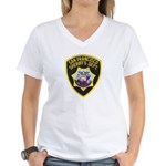 San Francisco Sheriff Women's V-Neck T-Shirt