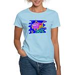 Cartoon Pirahna Women's Light T-Shirt